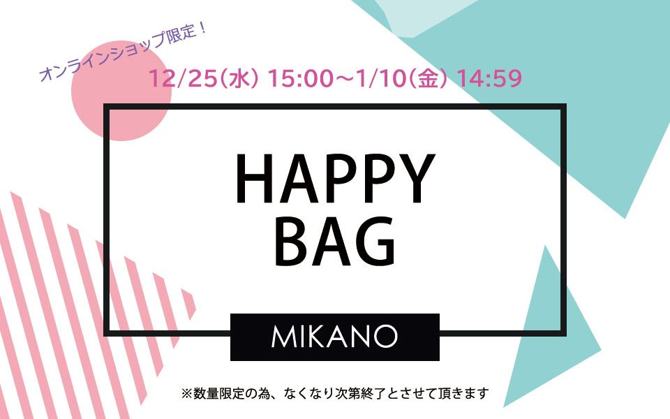 2020HAPPY BAG